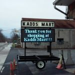 Rental Portable Signs for Western New York